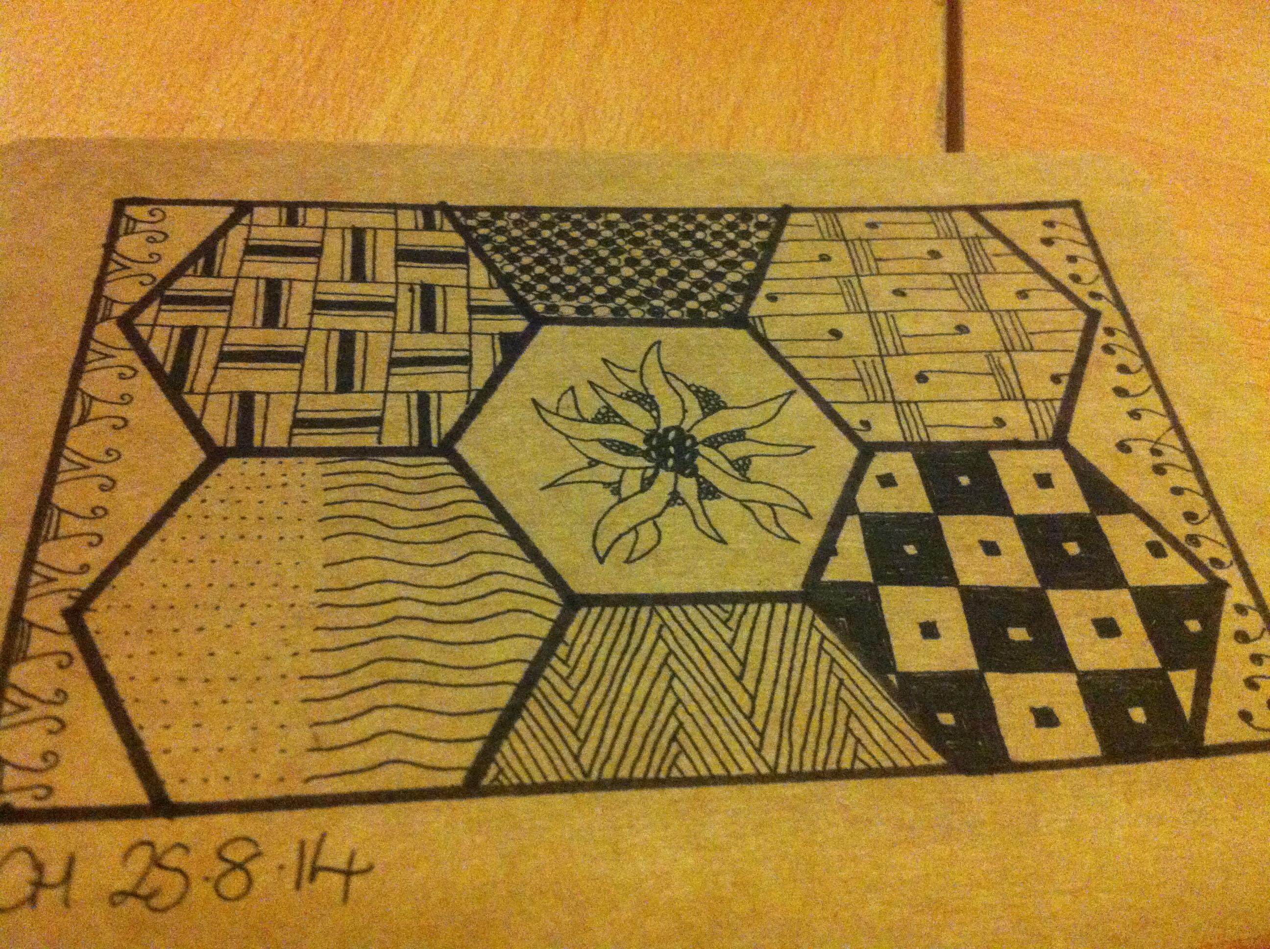 Zentangle challenges random ramblings of celeena cree 274 dailygadgetfo Images