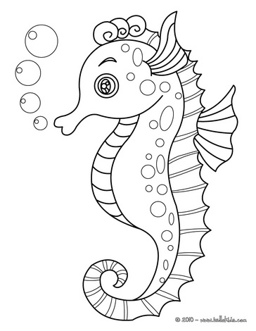 sea horse coloring page - zentangled colouring pages random ramblings of celeena cree