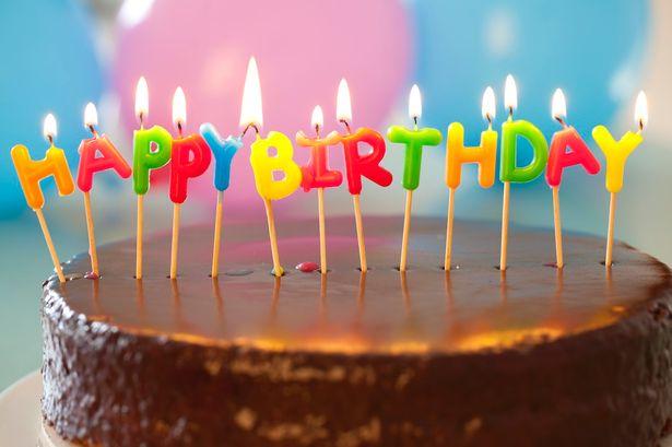 33 Years Old Birthday Cake